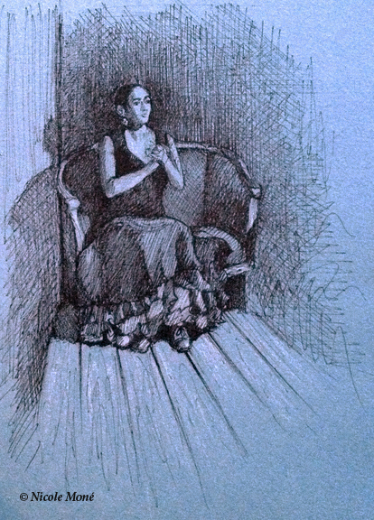 January 11, 2014 - Sketch of Seated Dancer