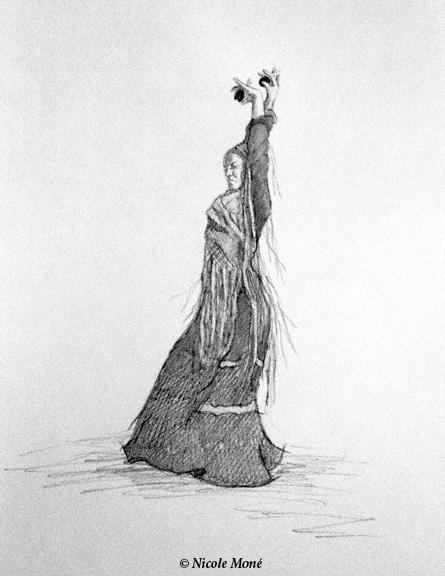 January 30, 2014 - Dancer Sketch