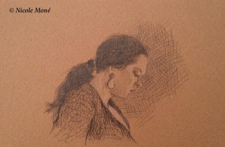 "JANUARY 7, 2014 – ""Head Study of Dancer"""