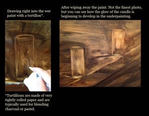 footlight drawing progression