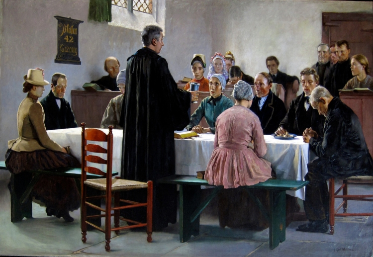 The Communion by Gari Melchers